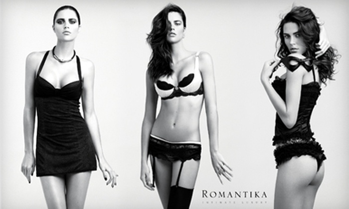 Romantika Lingerie - Buffalo Grove: $30 for $60 Worth of Lingerie, Lotions, and More at Romantika Lingerie in Wheeling