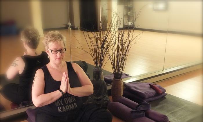 Abundant Bliss Yoga & XL-Yoga - Amethyst Dance & Fitness: Up to 54% Off Yoga Classes at Abundant Bliss Yoga & XL-Yoga