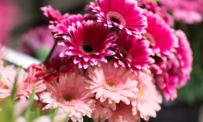 Bobbie's Flowers & Gift Shop - Optimist Park SW: $27 for Bouquet of the Month Club Card with 12 Bouquets from Bobbie's Flowers & Gift Shop ($90 Value)