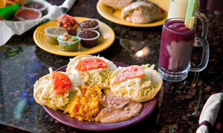 Mexican Food and Drinks Monday–Thursday or Friday–Sunday at Grande Jake's Fresh Mexican Grill (Up to 45% Off)