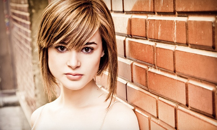 Katy Image - Parkchester,Westchester: Haircut, Style, and Blow-Dry with Optional Partial or Full Highlights at Katy Image (Up to 72% Off)