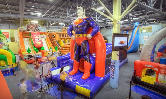 Bounce-a-Rama - Milpitas Great Mall: $199 for a Silver Birthday-Party Package for Up to 15 Children at Bounce-a-Rama ($395 Value)