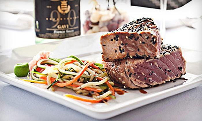 George Martin's Strip Steak - Great River: $40 Worth of Steak-House Food