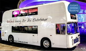 Party Bus Central: Party Bus Hire Pkg for 30 or 40 Ppl (From $990) with Bar Tab and Pizza with Party Bus Central (From $1,430 Value)