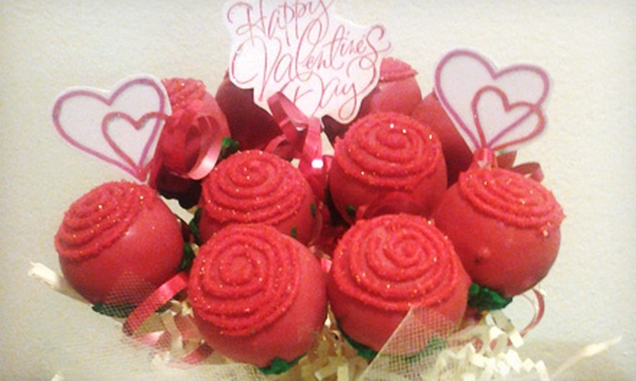 Parties by Terri - Chicago: Large or Regular Cake-Pop Bouquet from Parties by Terri (Up to 55% Off)
