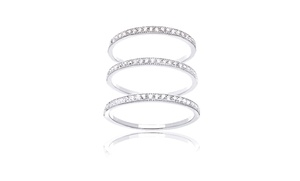 Band Ring Set with Swarovski Elements Crystals (3-Piece) at Band Ring Set with Swarovski Elements Crystals (3-Piece), plus 6.0% Cash Back from Ebates.