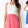 Floral Top Long Summer Dress