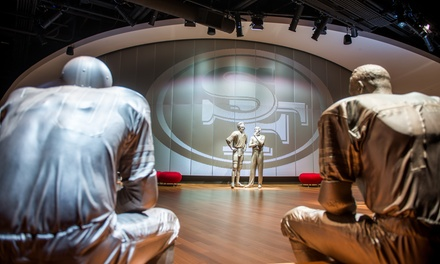 49ers Museum Presented by Sony Admission for 2 or Family of 4 Sony at Levi's Stadium Between 4/15-7/31 (Up to 58% Off)