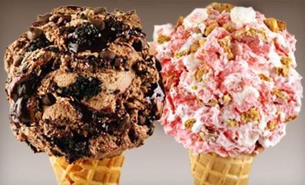 $10 Groupon to Marble Slab Creamery - Marble Slab Creamery in Kingsport