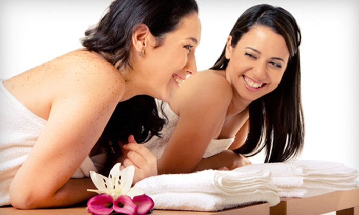 Shear Bliss Salon and Day Spa - Colonial Townpark: $134 for Spa Package with Massage and Mani-Pedi for Two at Shear Bliss Salon and Day Spa in Lake Mary (Up to $280 Value)