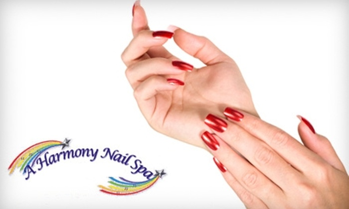 A Harmony Nail Spa - Winchester: $29 for a Harmony Pedicure and Hot-Paraffin Treatment at A Harmony Nail Spa ($85 Value)
