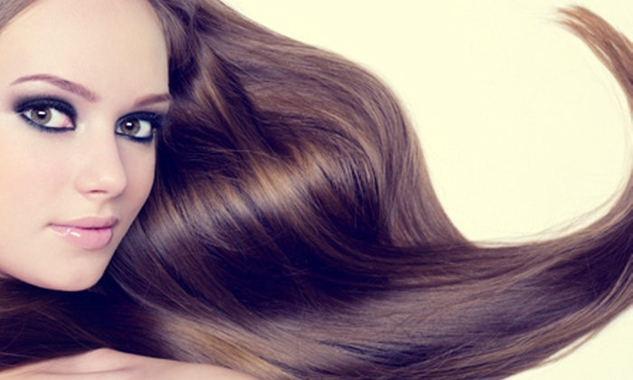 Salon Studio and Spa - Meadow Lake: Haircuts and Salon Services at Salon Studio and Spa in Prairie Village (Up to 58% Off). Four Options Available.