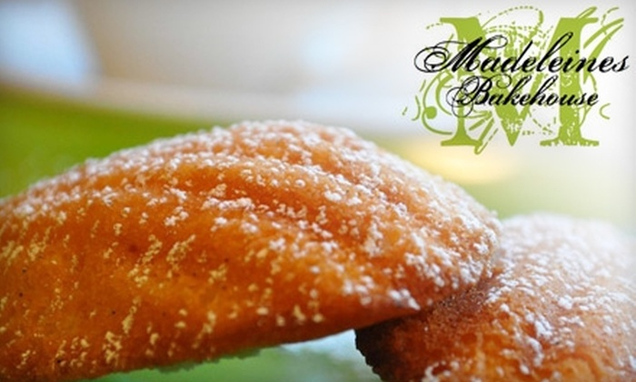 Madeleines Bakehouse - Multiple Locations: $4 for a Dozen Madeleine Cookies from Madeleines Bakehouse ($8 Value)