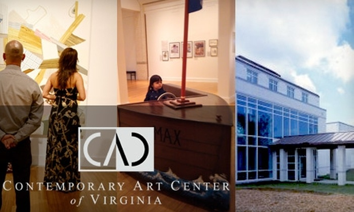 Contemporary Art Center of Virginia - Northeast Virginia Beach: One-Year Membership to the Contemporary Art Center of Virginia. Choose Between Two Options.