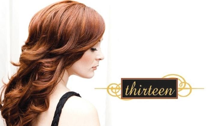 Thirteen - Downtown Walnut Creek: $45 for $100 of Salon Services at Thirteen