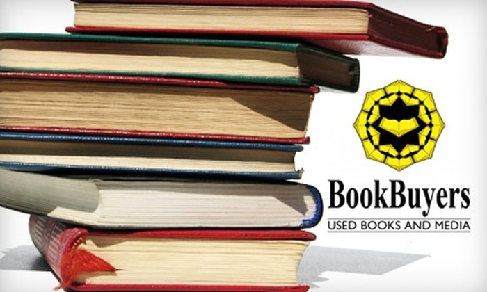 BookBuyers - Old Mountain View: $12 for $25 Worth of Used Books, DVDs and More at BookBuyers in Mountain View
