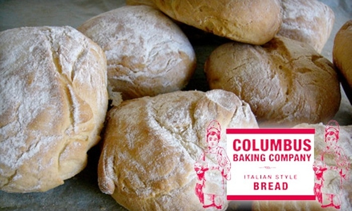 Columbus Baking Co. - Northside: $5 for $10 Worth of Fresh Bread and More at Columbus Baking Company and Columbus Meats and Cheeses