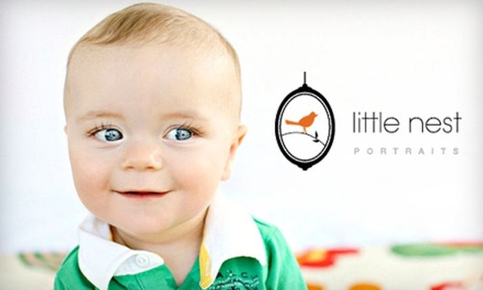 """Little Nest Portraits - Chadds Ford: $89 for Photography Session and 8""""x10"""" Gallery Mount at Little Nest Portraits ($250 Value)"""