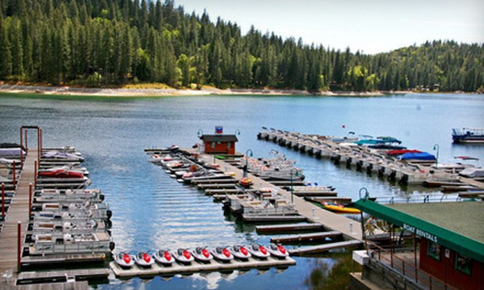 Bass Lake Water Sports - Bass Lake: $149 for a Five-Hour Pontoon-Boat Excursion from Bass Lake Water Sports ($299 Value)