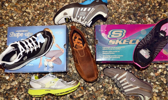 Quarks & Urban Trail - Multiple Locations: $20 for $40 Worth of Men's and Women's Skechers Shoes, Shape-Ups, and Tone-Ups  at Quarks