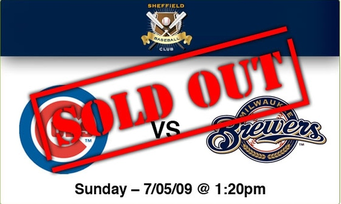 Sheffield Baseball Club - Lakeview: $89 Rooftop Tickets—Cubs vs Brewers, 7/5/09, 1:20 p.m.