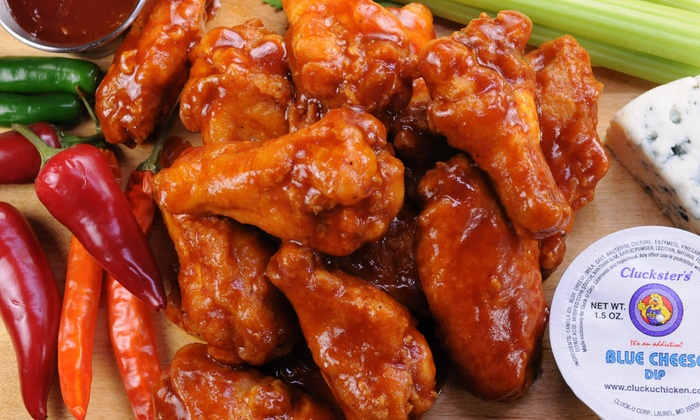 Cluck University Chicken - Hamilton:  $18 for Three Groupons, Each Good for One Dozen Chicken Wings at Cluck University Chicken ($39 Value)