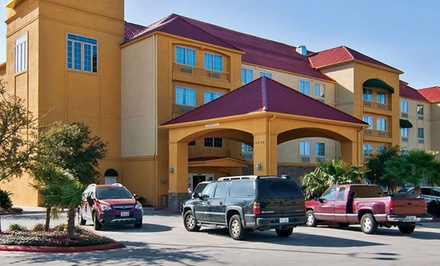 Groupon Deal: Stay at La Quinta Inn & Suites in San Antonio. Dates into June.