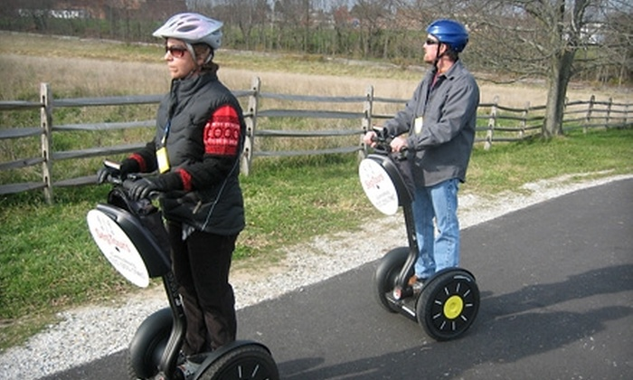 SegTours - Baltimore: $20 for a One-Hour Escorted Segway Ride through Gettysburg from SegTours ($40 Value)