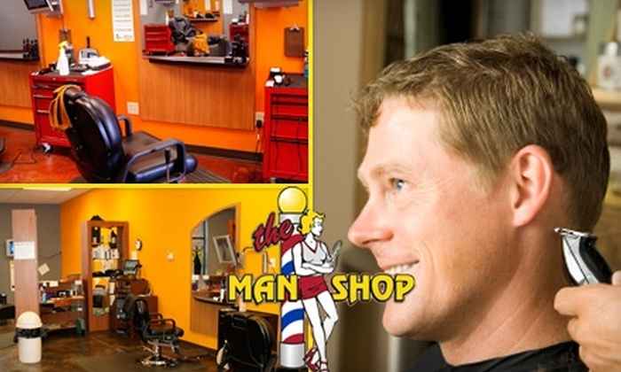 The Man Shop - Multiple Locations: $8 for The Man Shop Signature Service at The Man Shop ($16 Value). Choose from Four Locations.
