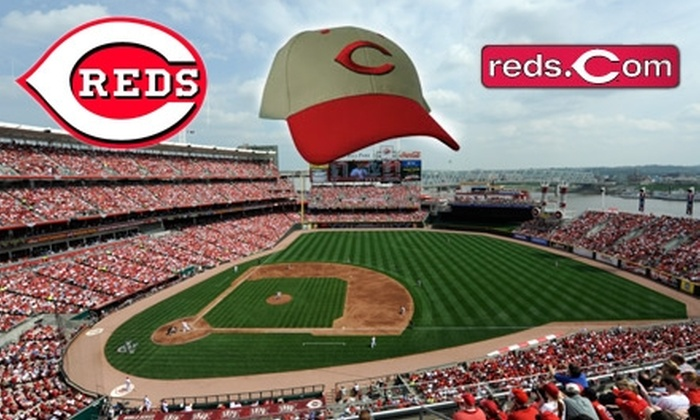 Cincinnati Reds - Central Business District: $20 for One Field-Box Ticket to Cincinnati Reds vs. San Francisco Giants and One Reds Cap ($50 Value). Choose from Three Dates.