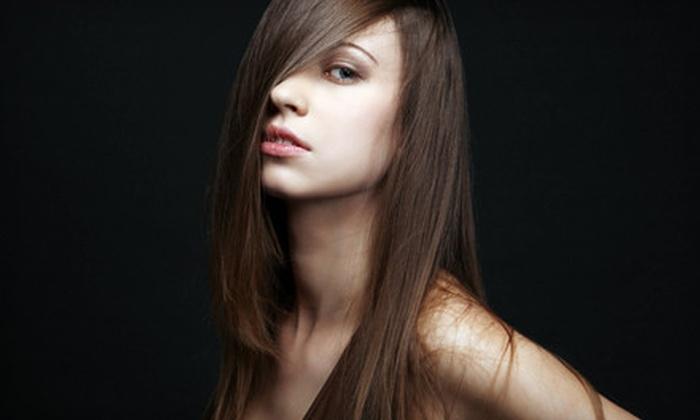 Kess Hair Care & Salon - Highland Meadows Estates: $65 for a Keratin Express Blowout Treatment at Kess Hair Care & Salon in Keller ($180 Value)