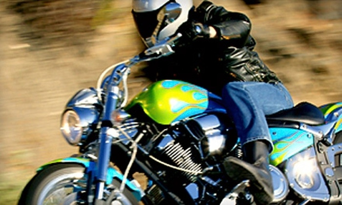 TNT Motorcycling - Edmonton: $30 for an Introduction to Motorcycling Course at TNT Motorcycling ($95 Value)