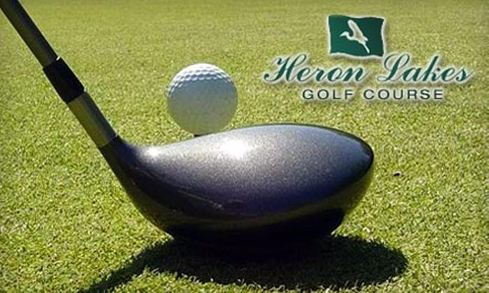 Heron Lakes Golf Course - Heron Lakes Estates: $89 for One-Month Membership at Heron Lakes Golf Course ($179 Value)
