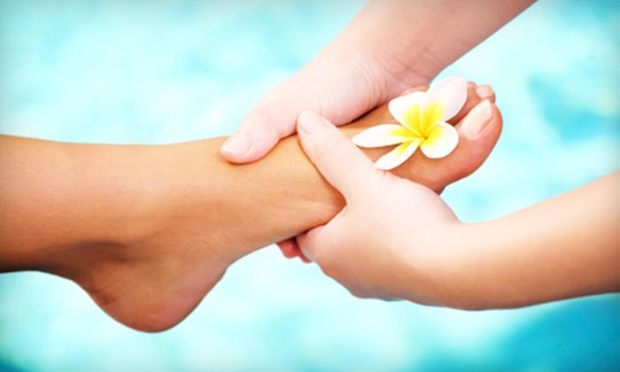 GroundSpring Healing Center, P.C. - Multnomah: Reflexology Pedistone Treatment or One-Month Holistic Detox Package at GroundSpring Healing Center, P.C. (Up to 62% Off)