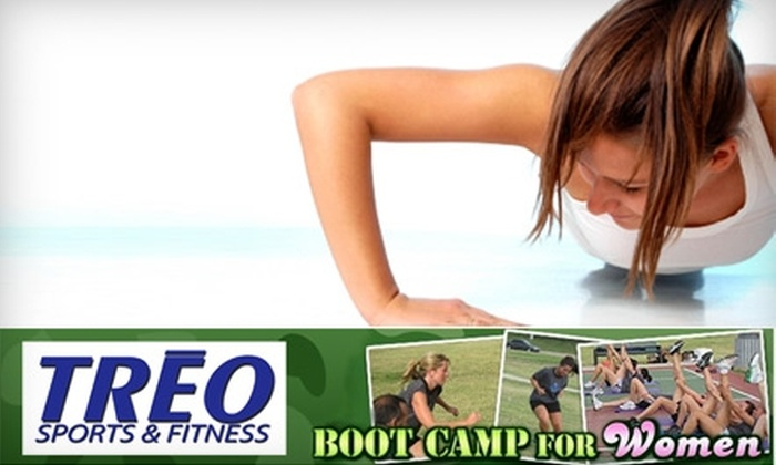 Buffalo Boot Camp for Women - West Seneca: $49 for One Month of Boot Camp at TREO Sports & Fitness's Buffalo Boot Camp for Women