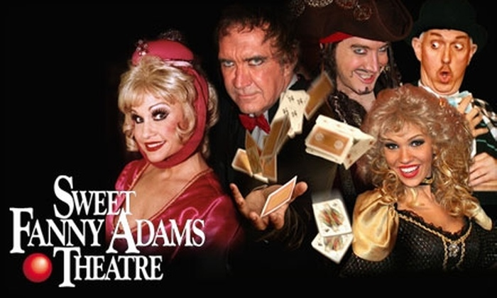 Sweet Fanny Adams Theatre - Gatlinburg: $24 for Two Tickets to Sweet Fanny Adams Theatre in Gatlinburg ($48.60 Value)