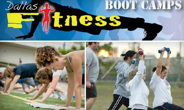 Dallas Fitness Boot Camps - Multiple Locations: $59 for Four Weeks of Boot-Camp Sessions at Dallas Fitness Boot Camps in Farmers Branch, Addison, and Sunnyvale ($197 Value)