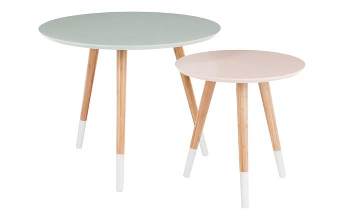 1 oder 2 Beistelltische im skandinavischen Stil im Design nach Wahl