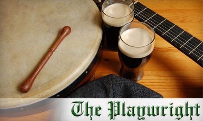 The Playwright Irish Pub & Restaurant - Hamden: $10 for $20 of Irish Fare and Drinks at The Playwright Irish Pub & Restaurant