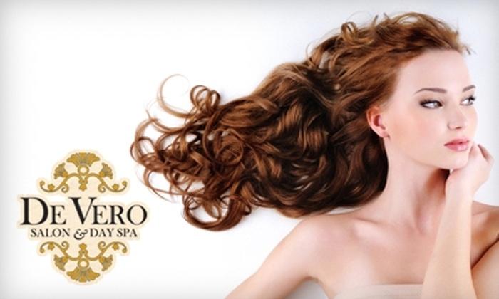 De Vero Salon & Day Spa - Fulshear-Simonton: Rejuvenating Hair, Nail, and Massage Services at De Vero Salon & Day Spa in Katy. Choose Between Two Options.