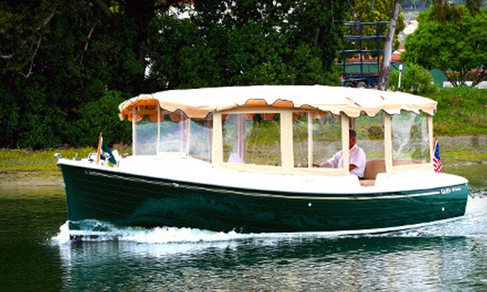 SJ Koch Electric Boats - Multiple Locations: $135 for a Two-Hour Boat Rental for Up to 10 from SJ Koch Electric Boats ($275 Value)
