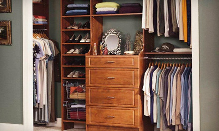 The Closet Shop - Center City West: $149 for a 6-Foot-Wide-Closet Installation or Credit Toward a Larger Project from The Closet Shop ($420 Value)