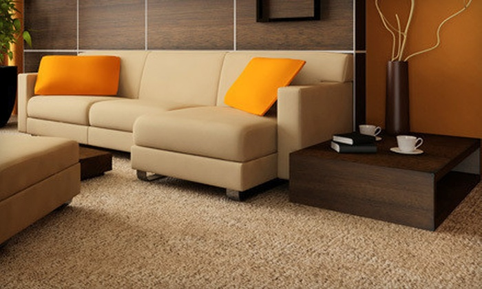 Omega Carpet & Janitorial Services - Alpharetta: Three-, Four-, or Five-Room Carpet Cleaning from Omega Carpet & Janitorial Services (Up to 87% Off)
