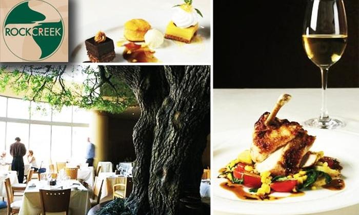 Rock Creek Mazza - AU Park - Friendship Heights - Tenley: $15 for $35 Worth of Eco-Friendly Food at Rock Creek Mazza
