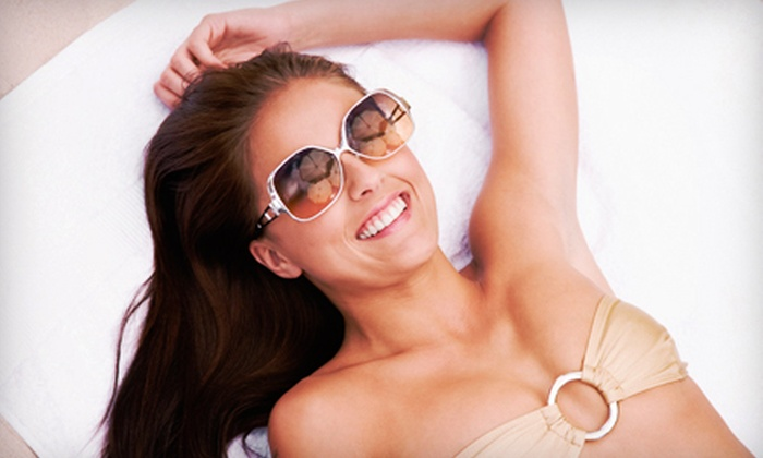 Spatique Salon - Gates: One or Three Custom Spray Tans at Spatique Salon (Up to 56% Off)