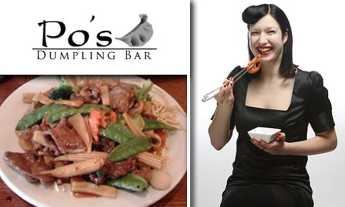 Po's Dumpling Bar - Volker: $7 for $14 Worth of Fresh Chinese Cuisine at Po's Dumpling Bar