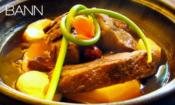 Bann - Mid-Wilshire: $30 for $60 Worth of Modern Korean Fare at Bann