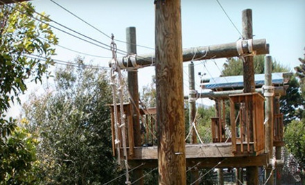 1 Pass to the Rock-Climbing Wall and Ropes Course (a $20 value) - AdventurePlex in Manhattan Beach
