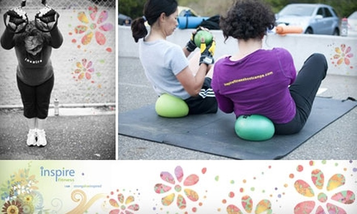 Inspire Fitness - Multiple Locations: $29 for Six Women-Only Boot-Camp Classes at Inspire Fitness (Up to $84.48 Value)