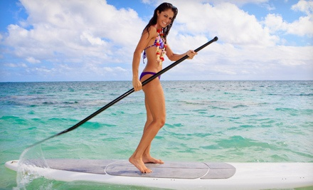 Standup-Paddleboarding Lesson for 1 (a $55 value) - Nature Coast SUP in Crystal River